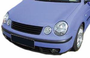 Kühlergrill Grill ohne Emblem für VW Polo 9N 01-05 - Vorschau 2