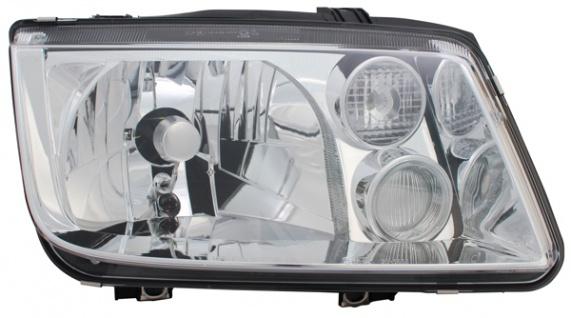 H3 / H4 SCHEINWERFER RECHTS TYC FÜR VW Bora 1J 98-05