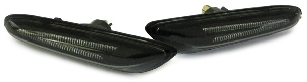 LED Seitenblinker smoke schwarz für BMW E81 E82 E87 E88 E92 E93 X1 E84