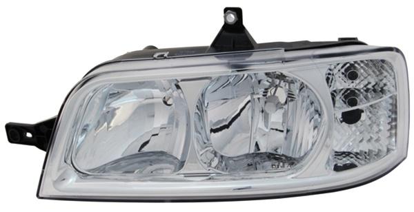 H1 / H7 Scheinwerfer links TYC für Peugeot Boxer 02-06