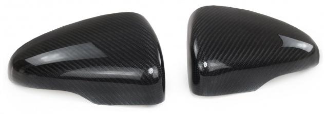Carbon Spiegelkappen zum Austausch für VW Golf 6 5K1 ab 08-12 Touran 1T3 10-15
