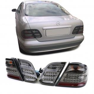 LED Rückleuchten schwarz smoke chrom für Mercedes CLK C208 W208