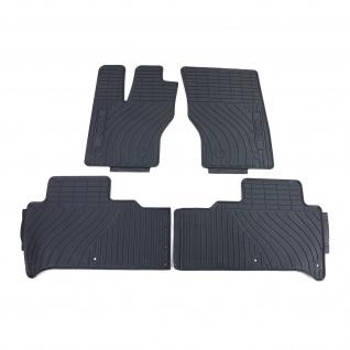 Premium Gummi Fußmatten Set Schwarz für Land Rover Range Rover LW LG LS ab 11