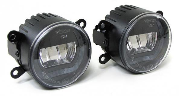 Klarglas LED Nebelscheinwerfer mit Tagfahrlicht für Citroen C4 Xsara Picasso - Vorschau 2