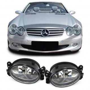 Klarglas Nebelscheinwerfer H11 für Mercedes W204 W164 W463 C209 C219 W169 W211 - Vorschau 1