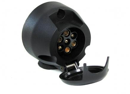 Auto Anhänger Adapter Stecker universal 7 polig ISO 1724 für 12v