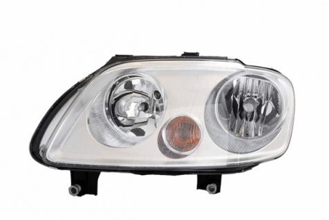 H1 / H7 Scheinwerfer chrom links TYC für VW Touran 1T 03-06