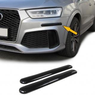 Stoßstangen Schutz Streifen flexibel zum kleben universal 306x35mm schwarz