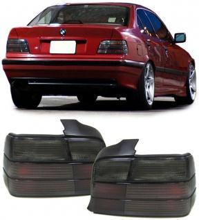 Rückleuchten schwarz smoke - Paar für BMW 3ER E36 Limousine 90-98