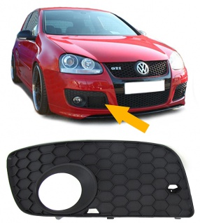 Stoßstangengitter Nebelscheinwerfer Blende GTI rechts für VW Golf 5 04-09