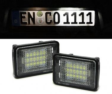 LED Kennzeichenbeleuchtung weiß 6000K für Mercedes GLK X204 ab 08