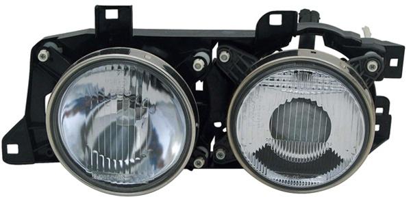H1 / H1 Scheinwerfer links TYC für BMW 5er E34 88-97