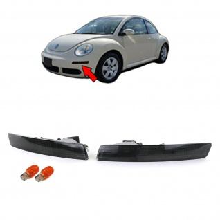 Blinker schwarz mit Standlicht Paar für VW new Beetle 05-10