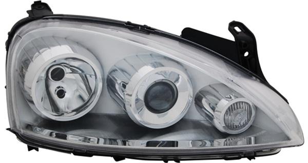 H7 / H7 Scheinwerfer rechts TYC für Opel Corsa C 03-06