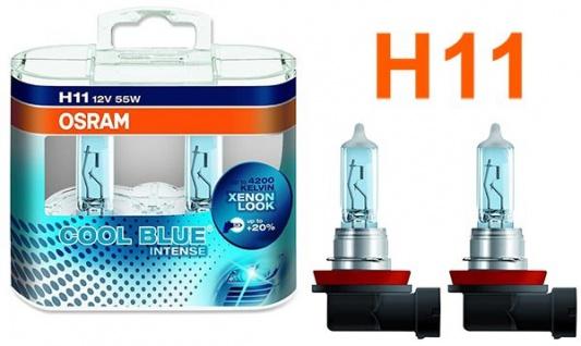 Osram Cool Blue Intense H11 55W 12v Halogen Leuchtmittel