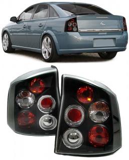 Klarglas Rückleuchten schwarz für Opel Vectra C Limousine OPC GTC 02-08