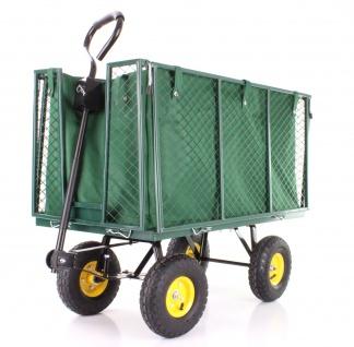 Transportwagen Gartenwagen Gerätewagen Handwagen mit Luftbereifung XXL 300 KG