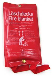 Löschdecke Feuerlöschdecke DIN EN-1869 100 x 100 CM