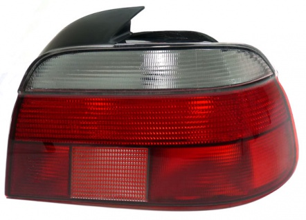 Rückleuchte rot weiß rechts für BMW 5er E39 Limousine 95-00