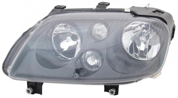 H7 / H7 Scheinwerfer schwarz links TYC für VW Touran 1T 03-06