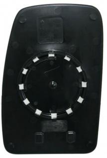 Spiegelglas rechts für Nissan Interstar 03- - Vorschau