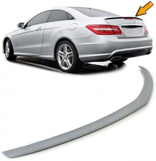 Heckspoiler Lippe Sport Look für Mercedes E Coupe C207 Cabrio A207 ab 10