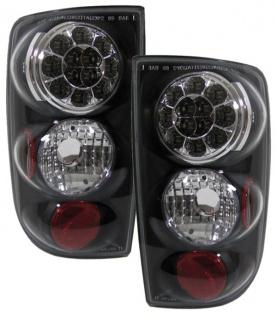 Envoy LED Rückleuchten schwarz für Chevy Blazer S10 Jimmy