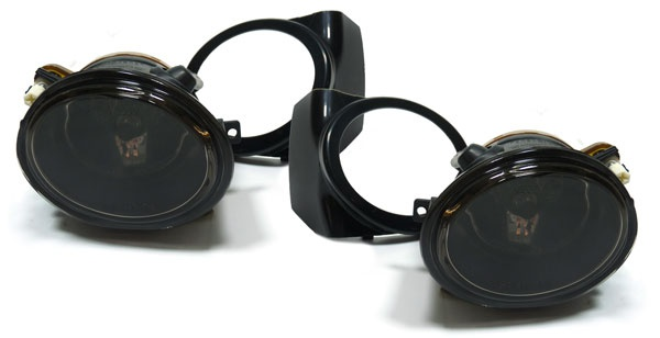Klarglas Nebelscheinwerfer HB4 schwarz Paar passt für BMW 5er E39 M5 3ER E46 M3