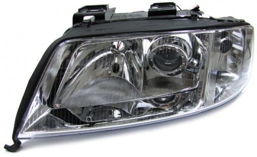 H1 H7 Scheinwerfer links für Audi A6 C5 97-99