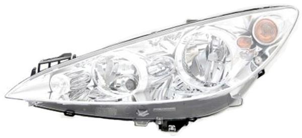 H1 / H7 / P21W Scheinwerfer links TYC für Peugeot 308 CC 09-11