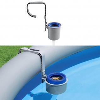BESTWAY 58233 Einhängeskimmer Oberflächenskimmer Filter Pool Skimmer Reinigung