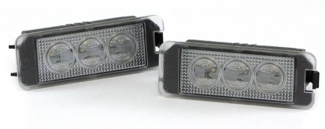 LED Kennzeichenbeleuchtung High Power weiß 6000K für VW Amarok ab Bj. 2010