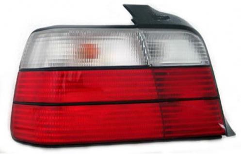 Rückleuchte / Heckleuchte weiß links TYC für BMW 3ER Limousine E36 90-00