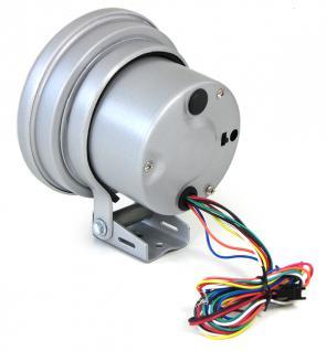 4 in 1 Multi Instrument Drehzahlmesser Öldruck Wasser mit Shiftlight 5 Zoll - Vorschau 3