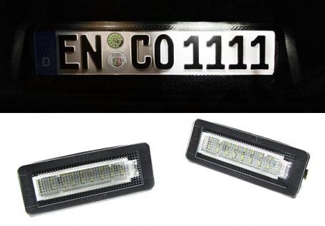 LED Kennzeichenbeleuchtung weiß 6000K für Smart ForTwo Typ W451