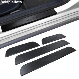 Edelstahl Einstiegsleisten Exclusive schwarz für Hyundai i30 GD ab 11