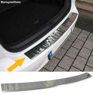 Ladekantenschutz Stoßstangenschutz Abdeckung Edelstahl für VW Golf 6 Plus ab 08