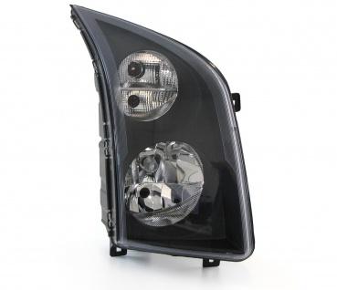 Scheinwerfer rechts H7 / H7 mit Motor TYC für VW Crafter 30-50 2E ab 13
