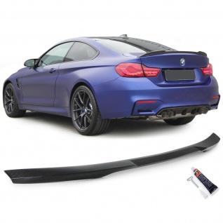 Echt Carbon Heckspoiler Spoilerlippe Sport Optik für BMW 4er F32 ab 13