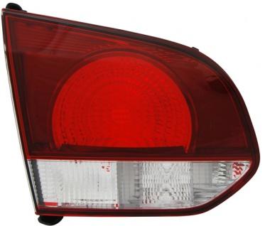 Rückleuchte / Heckleuchte innen schwarz smoke links TYC für VW Golf VI 08-