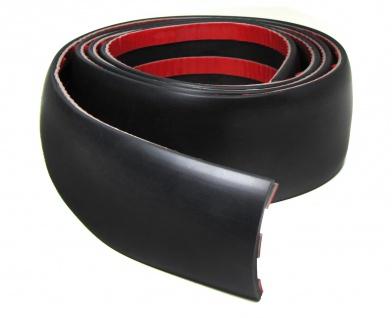 Tür Karosserie Seiten Schutz Leiste zum Kleben universal 1, 5mx5cm Schwarz