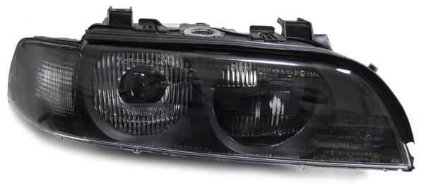 Xenon Scheinwerfer mit Blinker schwarz rechts für BMW 5er E39 95-00