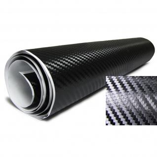3D Carbon Folie schwarz selbstklebend 30cmx100cm