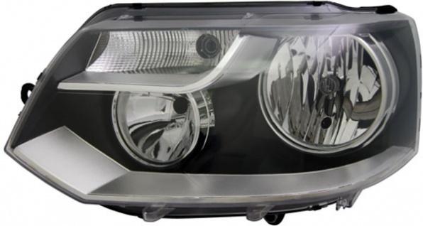 H7 / H15 Scheinwerfer schwarz links TYC für VW Bus Transporter T5 09-