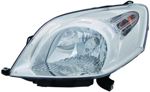 H4 Scheinwerfer links TYC für Peugeot Bipper AA 08-