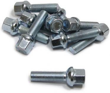 10 Radbolzen Radschrauben Kugelbund M12x1, 5 45mm - Vorschau 2