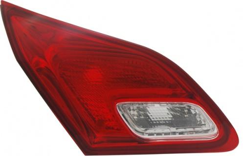 RÜckleuchte / Heckleuchte Innen Rot Weiss Links Tyc FÜr Opel Astra J 09- - Vorschau