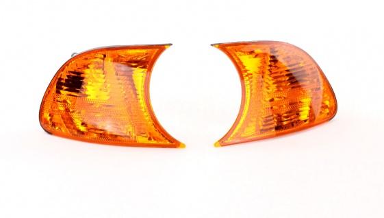 Blinker Orange Paar für BMW 3er Coupe Cabrio E46 99-01