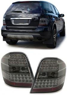 LED Rückleuchten schwarz für Mercedes ML W164
