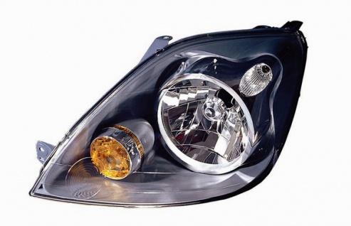 H4 Scheinwerfer links für Ford Fiesta 05-08